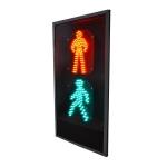 Светофор пешеходный  плоский 200мм П 2.1-М