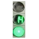 Светофор 300мм светодиодный с отсчетом Т.1.2 с ТООВ