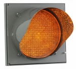 Светофор светодиодный, мигающий, жёлтый Т 7.1. 200мм