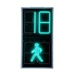 Светофор пешеходный интеллект. плоский 200мм