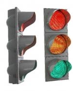 Светофоры 3-х секционные Д100