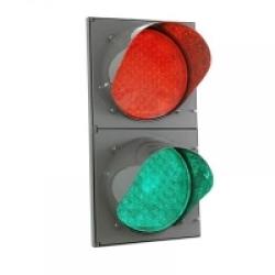 Светофор индустриальный светодиодный  Т8.1 (200 мм)